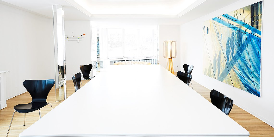 Meetingraum M4 Workspace Pasche Penthouse Wuppertal