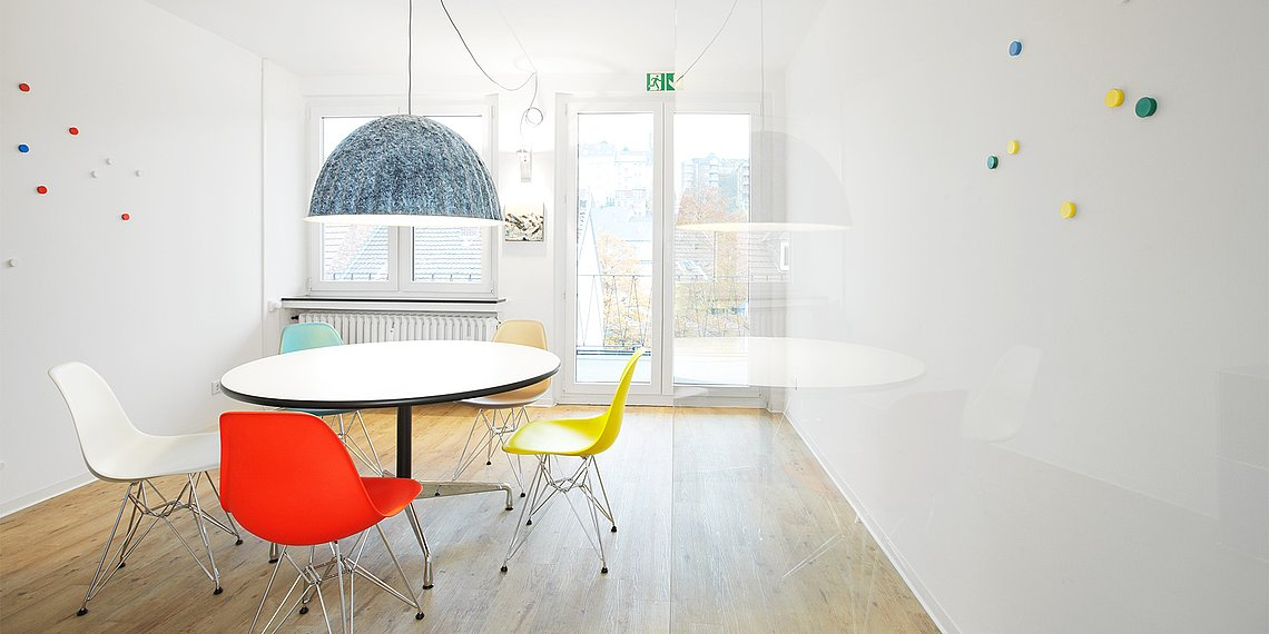 Meetingraum M2 Workspace Pasche Penthouse Wuppertal